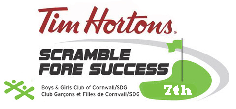 7th Tim Horton's Scramble Fore Logo7th